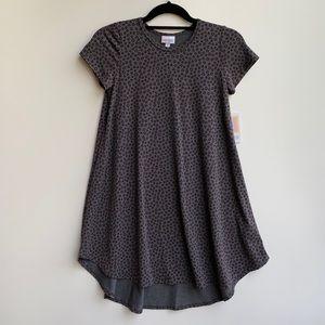 Lularoe Scarlett Grey Girls Dress Size 12